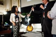 One of the winners of our Gibson Guitar (@Gibson Guitar) giveaway. #NMS2013