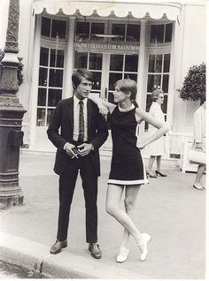 Jacques Dutronc and Zouzou. 1966