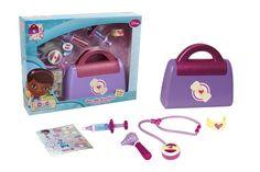 Poze Set Geanta Doctorita Plusica - Giochi Preziosi Disney, 4 H, Lunch Box, Phone, Playmobil, Telephone, Bento Box, Mobile Phones, Disney Art