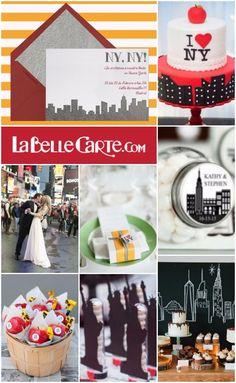 Invitaciones de boda, Invitaciones para Boda, Fiesta de New York, Boda Nueva York  Para Más Info Visita: www.LaBelleCarte.com  Online wedding invitations, Online wedding cards, wedding ideas, new york wedding theme, new york wedding party  For More Info Visit: www.LaBelleCarte.com/en