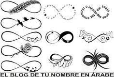 Tatuajes de simbolos: Infinito