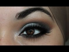 Graphite (Silver Eyeshadow Tutorial Using Makeup Geek & Coastal Scents Eyeshadows) - YouTube