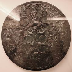 Archaic Indo-Greek God Zeus i.e. Zevs at Heraklion Museum Crete. First known depiction. Første kjente avbildning av Zevs fra 8 - 7 århundre BCE. by saamiblog, via Flickr