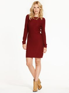 Image for Button Shield Epaulette Dress from Just Jeans Online Store