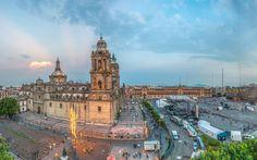 The Zócalo, Mexico City