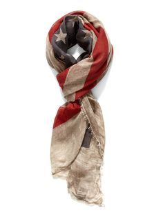 Vintage American flag scarf. have this. love it.