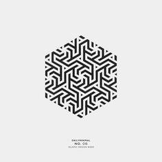 A new geometric and minimal design every day. Geometric Tattoo Pattern, Geometric Shapes Design, Geometric Drawing, Geometric Logo, Shape Design, Islamic Geometric Tattoo, Cladding Design, Logo Minimalista, Islamic Art Pattern