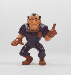 Monster Wrestlers In My Pocket - W40 Referee  Final  Countdown - Mini Toy Figure