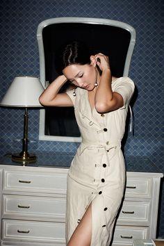 Cannes Diary via GaryPepperGirl Work Fashion, Denim Fashion, Skirt Fashion, Daily Fashion, Fashion Outfits, Fashion Design, Street Chic, Street Style, Gary Pepper Girl