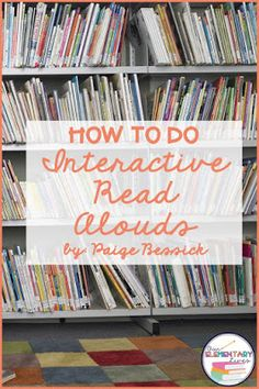 Interactive Read Alouds are an essential learning activity for any classroom. Learn how to do them in this blog post with an easy 4-step process. Perfect for comprehension, vocabulary and fluency instruction, your students are going to love this reading activity and so are you! Great for any grade, these lesson ideas are sure to become your new favorite activity.