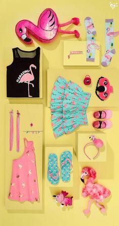 Flamingo fashion is everything!