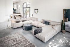 Vesta corner sofa large from € ⋆ Furninova ⋆ Löwik Furniture - Vesta corner sofa large - Custom Furniture, Furniture Making, Luxury Furniture, Furniture Decor, Home Theater Design, Home Theater Seating, Media Room Seating, Big Sofas, Home Furniture