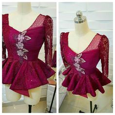 Collection of the most beautiful and stylish ankara peplum tops of 2018 every lady must have. See these latest stylish ankara peplum tops that'll make you stun African Wear, African Attire, African Fashion Dresses, Fashion Outfits, Ankara Fashion, African Lace, Beautiful Ankara Styles, Trendy Ankara Styles, Beautiful Dresses