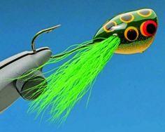 Mc Nally Frog Popper | Fly Tying patterns | Fly dreamers
