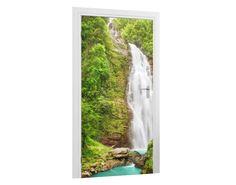 Türtapete Wasserfall Tapeten & Farben Türtapeten Mit Pflanzen & Tieren