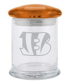 Take a look at this Cincinnati Bengals 12-Oz. Candy Jar by Boelter Brands on #zulily today!