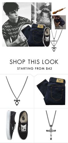 """ootd"" by l0st-demig0ds ❤ liked on Polyvore featuring Diesel, Vans, John Hardy, Stele, men's fashion and menswear"