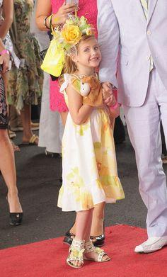 Anna Nicole Smith's daughter, Dannielynn Birkhead Photo - 138th Kentucky Derby - Arrivals