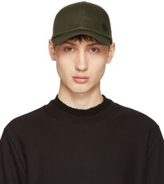 Rag & Bone Black Wool and Leather Cap. Ps By Paul Smith for Men Collection