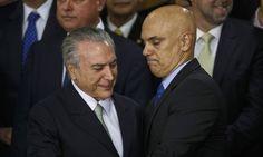 PROF. FÁBIO MADRUGA: Alexandre de Moraes indicado por Michel Temer para...