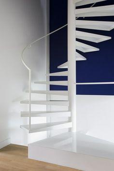 Glass house - nice stairs