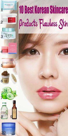 10 Best Korean Skincare Products Flawless Skin Worth Trying Beste koreanische Hautpflegeprodukte mak Organic Skin Care, Natural Skin Care, Natural Beauty, Korean 10 Step Skin Care, Hair Removal, Korean Beauty Routine, Korean Beauty Tips, Asian Beauty, Skin Care Routine For 20s