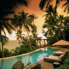 North Island is located in the Seychelles, and has 11 luxury lodges for you to choose from for your stay. Book North Island Seychelles and other exclusive luxury resorts at ResortWorld. Romantic Destinations, Vacation Destinations, Dream Vacations, Vacation Spots, Italy Vacation, Romantic Travel, Honeymoon Getaways, Honeymoon Places, Honeymoon Ideas