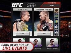 EA SPORTS UFC App by Electronic Arts. Fighting Game Apps. #easports #ufc #freeapps #app #itunes #googleplay #ipad #iphone #itouch #fighting #games #battle #octagon #android