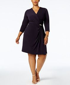 Charter Club Plus Size Printed Fit & Flare Dress ly at Macy s