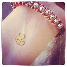 Photo by lanylane - Tattoo temporaire - Canard - http://www.bernardforever.fr/products/oh-lamour-le-retour