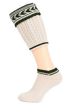 Loferl Set mit passenden Socken. Egal, ob Tracht oder Lederhose, ohne die passenden Wadenstrümpfe und Socken ist das Trachten-Outfit für Herren unvollständig. Harmonisch wirkt es dann, wenn die Loferl und Söckchen farblich auf die Tracht...