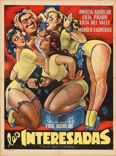 """Las Interesadas (1952) artwork by Ernesto Garcia """"El Chango"""" Cabral HD Wallpaper From Gallsource.com"""