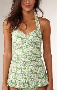 Love all these swimsuits  by Down East basics