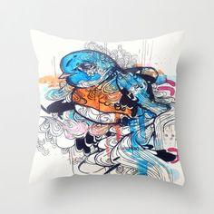 Bedroom Decor Bird Art Throw Pillow Cover Living by ArtOfPrincessM