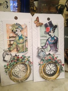 Springtime tag challenge at character constructions  I love Catherine Moore character constructions stamps