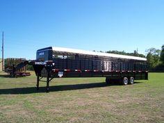 Horse Stalls, Horse Barns, Horses, Livestock Trailers, Horse Trailers, Horse Training Tips, Horse Tips, Gooseneck Trailer, Natural Horsemanship