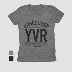 YVR - Women's Tee