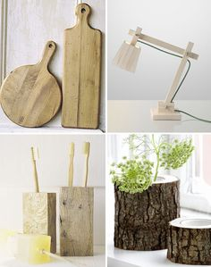 I'm so into wood projects! Wood is my new fav material!