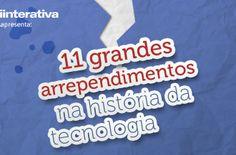 Os arrependimentos na história da tecnologia - infográfico recorda 11 deles - Blue Bus