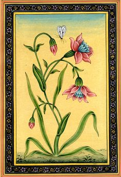 """Mughal Flower"" by Kailash Raj."