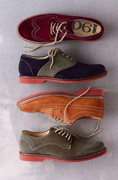 Fashion Mens Shoes Suede brogues ~ The Vintagologist Me Too Shoes, Men's Shoes, Shoe Boots, Dress Shoes, Suede Shoes, Footwear Shoes, Shoes Men, Sharp Dressed Man, Well Dressed Men