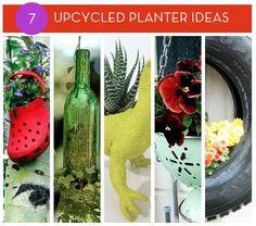 7 Creative Upcycled Planter Ideas