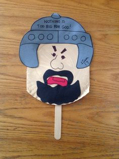 Goliath bible craft bible crafts by let bible crafts, david, goliath craft Bible Story Crafts, Bible School Crafts, Bible Crafts For Kids, Vbs Crafts, Church Crafts, Toddler Crafts, Preschool Crafts, Bible Stories, Sunday School Kids