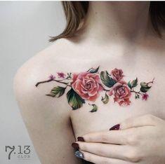 Flores estilo enredadera - Tatuajes para Mujeres 8b65e9f5386e