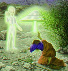 Jesus enlightened by aliens? Aliens And Ufos, Ancient Aliens, St Judas, Grey Alien, Alien Art, Ancient Artifacts, Sacred Art, Fantasy Art, Cool Pictures