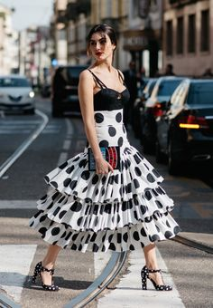just so amazing... let's see that again. #LiseGrendene in D&G everything in Milan. stunning.