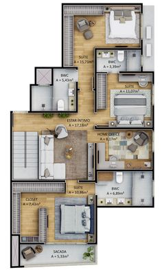 Discover recipes, home ideas, style inspiration and other ideas to try. Sims House Plans, House Layout Plans, Family House Plans, Dream House Plans, House Layouts, Small House Plans, House Floor Plans, Cottage Floor Plans, Bedroom Floor Plans