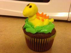 Dinosaur Theme Cupcake