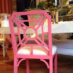 More furniture from The Lily Pulitzer showroom -