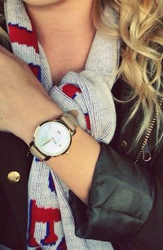 Walk out in style with the Gold Pearl Leather watch from MVMT Watches: Amazing Style Within Reach.